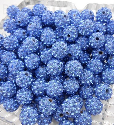 Beads Hotsale Black Blue Discount Mixed Multi Color Micro Pave Long Bending Tube Crystal Gradual Crystal Beads Shamballa Numerous In Variety Beads & Jewelry Making