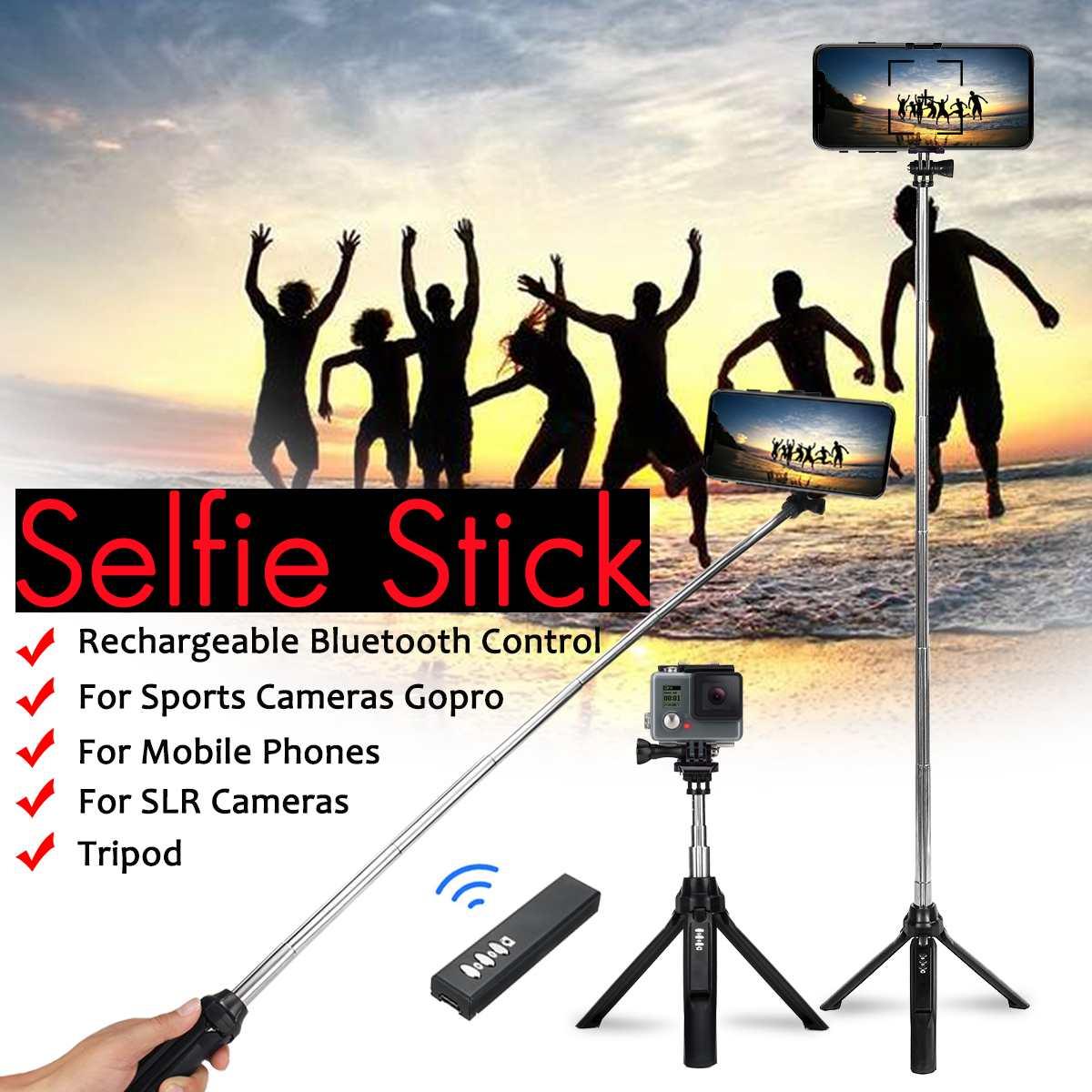 100% Wahr Erweiterbar Selfie Stick Stativ Einbeinstativ Bluetooth Remote Variablen Fokussierung Für Iphone Für Xiaomi/samsung Für Gopro 4 5 Slr Kamera Duftendes Aroma