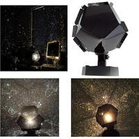 Vktech 3 цвета Романтический Astro звездное небо лазерный проектор Космос, ночь свет лампы черный цвет теплый/белый/синяя лампочка светлый цвет