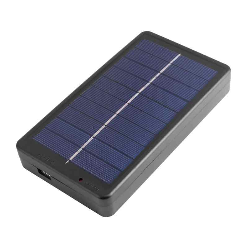 vanpower 2W Solar Panel Charger with Base for 1 2 Section 18650 Battery Rechargeable Charging Mobile Phone USB Lights Charger