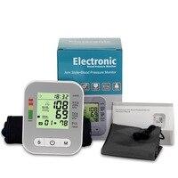 Home health care Pulse measurement tool Portable LCD digital Upper Arm Blood Pressure Monitor