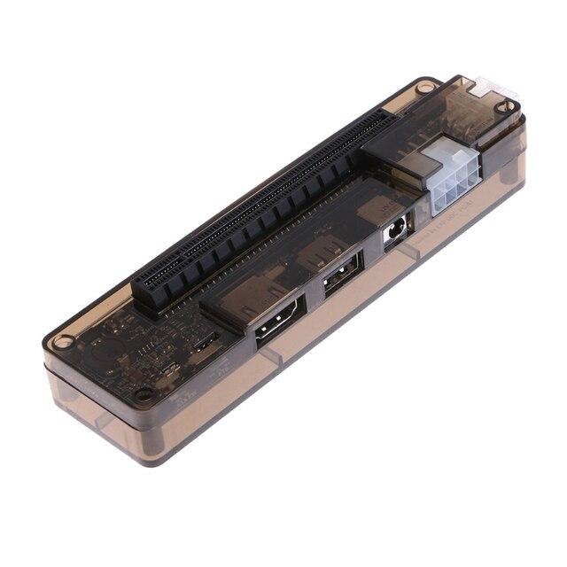hot-PCIe PCI-E V8.4D EXP GDC External Laptop Video Card Dock / Laptop Docking Station (Mini PCI-E interface Version) 5