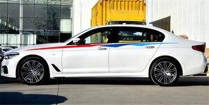 Image 5 - ドアサイドデカール車のステッカーの装飾のために適合自動反射ウエストライン 3 色