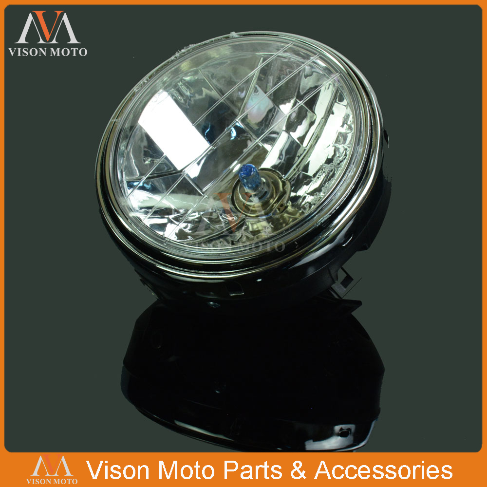 Motorcycle Front Light <font><b>Headlight</b></font> Head Lamp For <font><b>Honda</b></font> CB400 CB500 CB1300 Hornet CB250 CB600 CB900 VTEC VTR 250 <font><b>VTR250</b></font> image