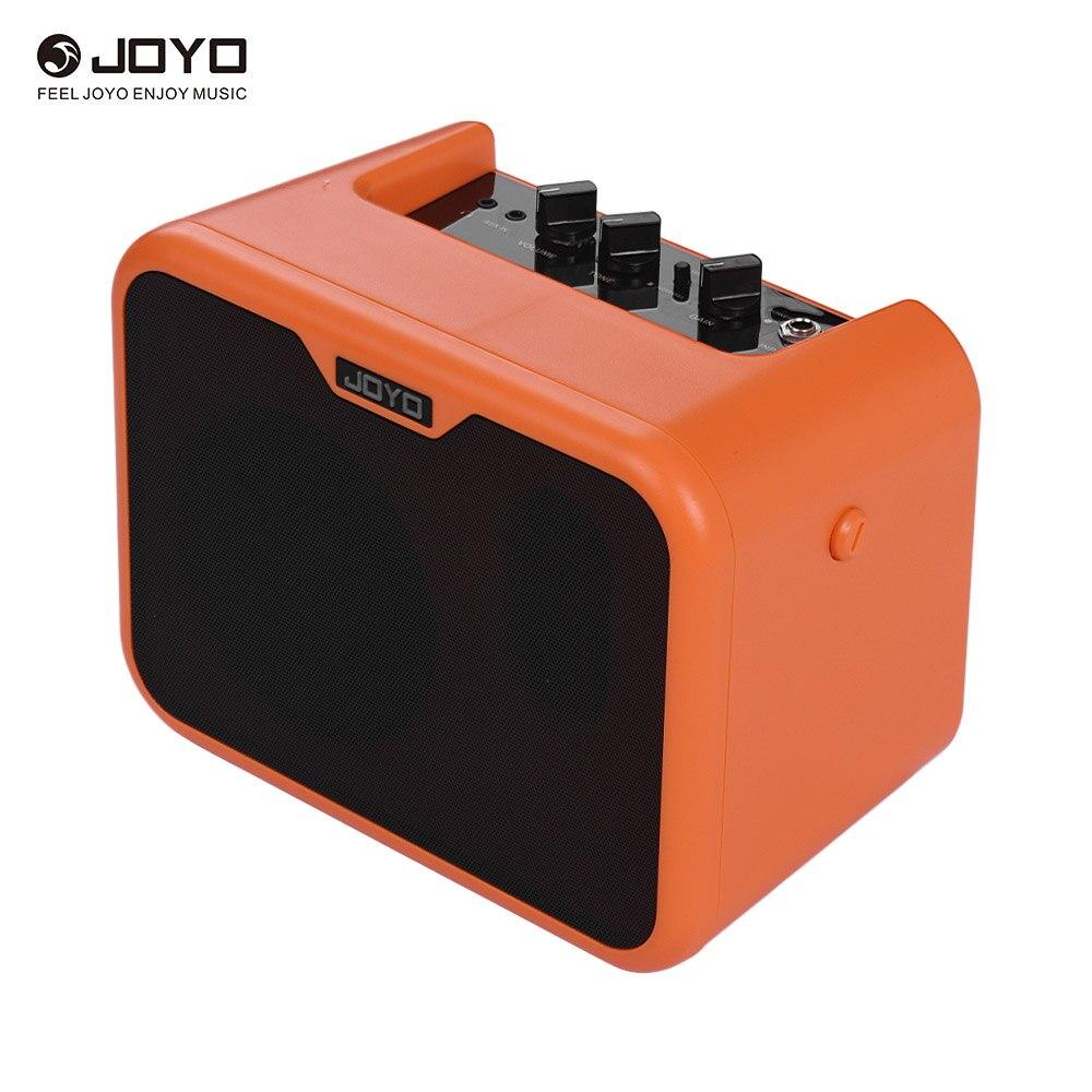 JOYO MA-10A Mini haut-parleur amplificateur de guitare acoustique Portable 10 watts ampères normales/lumineuses doubles canaux avec adaptateur secteur