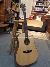 Finlay 41Acoustic Guitar,Solid Spruce Top/Mahogany body,guitars china With Hard case,cutaway guitar