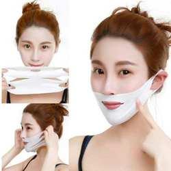 1 шт. 4D двойная v-образная маска для лица Tension укрепляющая маска для похудения лифтинг тонкая маска красота прибор для ухода за лицом