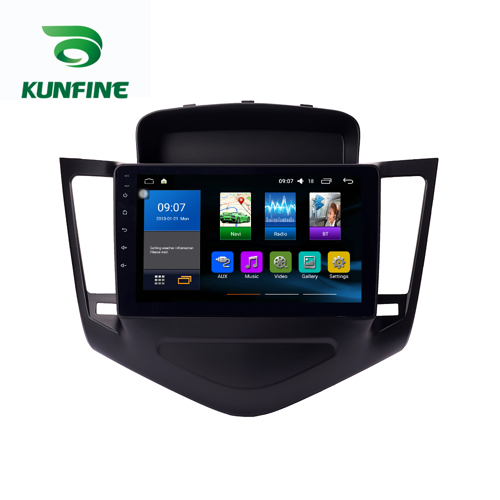 Octa Core 1024*600 Android 8.1 Car DVD GPS Navigation Player Deckless Car Stereo for <font><b>Chevrolet</b></font> <font><b>Cruze</b></font> 2009-2013 Radio Headunit image