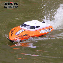 UDI001 RC Boat Bateau One Propeller Remote Control Boats Toys 2.4GHz 4CH Water Cooling High Speed ZLRC