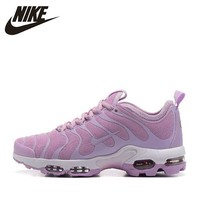 Nike Original New Arrival Air Max Plus TN ULTRA Women's Running Shoes Breathable Outdoor Comfortable Sneakers # 830768/898014