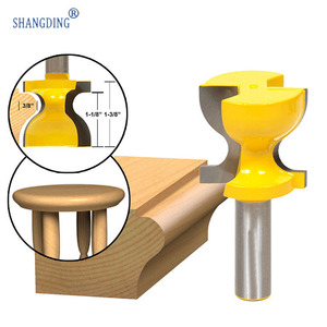 High Archives 1/2 Shank Edge Knife Carpentry Carving Machine Tool Chair Stool Milling Cutter Engraving Wood Milling Cutter(China)