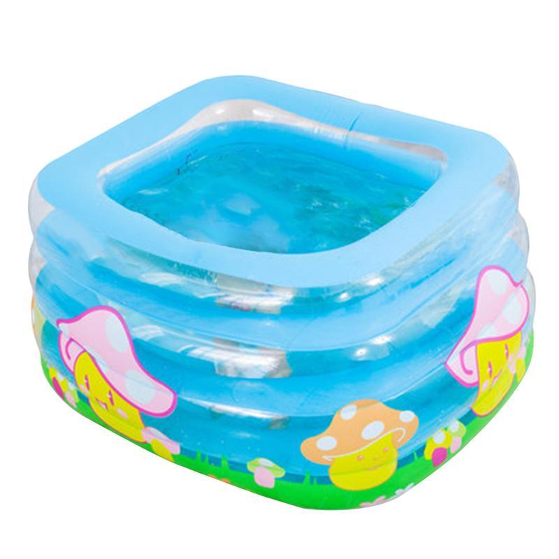 Bébé gonflable piscine pour été nouveau-nés enfants garder au chaud piscine infantile Portable baignoire bébé sécurité épaissir bain