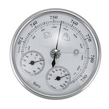 Jakość naścienny termometr gospodarstwa domowego higrometr wysoka dokładność manometr barometr powietrza Instrument pogody tanie tanio MiLESEEY CN (pochodzenie) 2-3 9 Cali ANALOG pressure 960 ~ 1060hPa (hPa) temperature -30 ~ 50 ℃ humidity 0 ~ 10