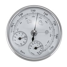 Wall Mounted Household Thermometer Hygrometer High Accuracy Pressure Gauge Air Weather Instrument Barometer(China)