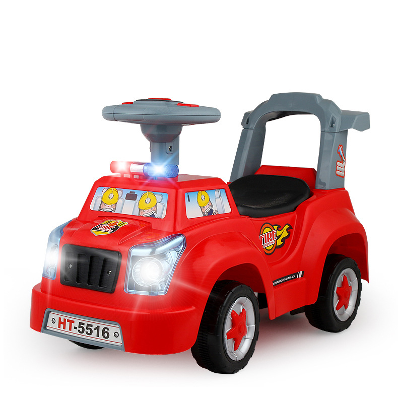Children Music Twisting Scooter Four Wheel Twisting Car Can Sit Walker Baby Infant Music Foot Driving Car