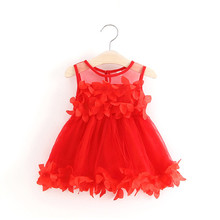 Baby Dresses For Girl Summer Christening Dress For Baby Girl Lace Vestido Infantil 1 Year Dresses Party And Wedding Floral Dress недорого