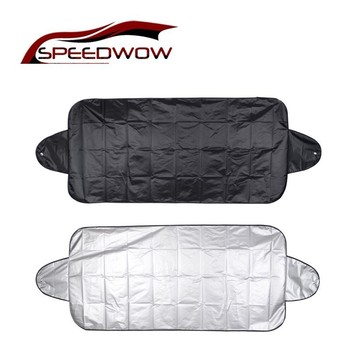 SPEEDWOW 1Pcs Car Windshield Cover Protector Fornt Rear Exterior Protection Snow Blocked Covers