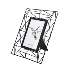 opening promotion-Pendulum Photo Frame Creative Hollowed Iron Skeleton Desktop Baby