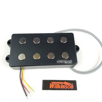 Wilkinson Lic 4 Strings electric bass Guitar Pickup for four strings BigSound Fit Musicman Bass WOM4