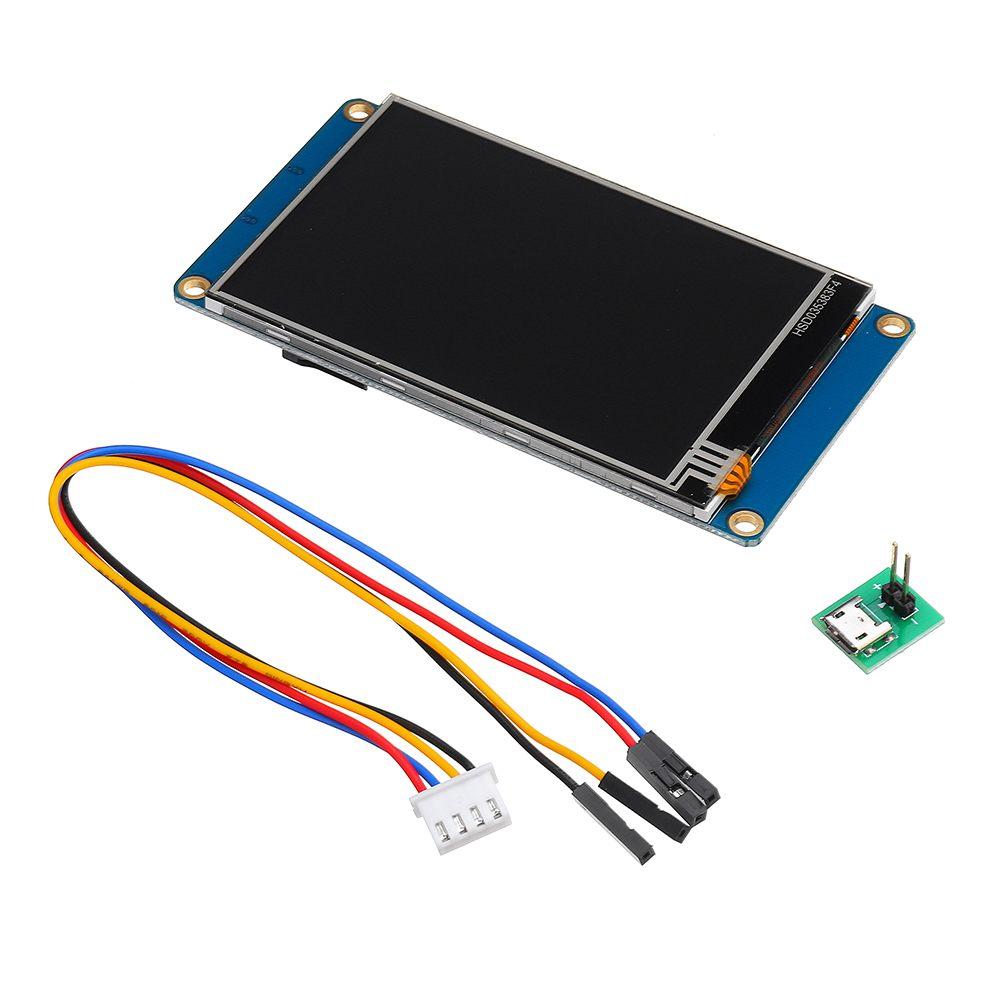 Nouveau Module d'affichage LCD intelligent UART HMI 3.5 ''Version anglaise NX4832T035 pour Modules LCD Arduino TFT Raspberry Pi