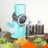 Potato Carrot Chopper Multi function Kitchen Tools Manual Rotating Grater Kitchen Gadget Vegetable Fruit Cheese Cutter Slicer