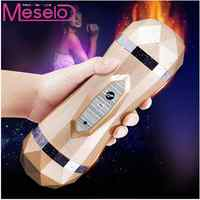 Meselo Vibrator Dual Channel Deep Throat Suck Mouth Artificial Vagina Sex Toys for Adults vagina Real Pussy Masturbator For Man