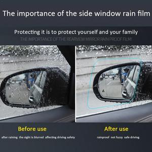 Image 4 - A Pair Of Car Rearview Mirror Waterproof And Anti Fog Rain Proof Film Side Window Glass Film a Variety Of Size Specifications