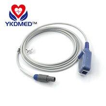 10PCS/Compatible with EDAN spo2 sensor extension cable 8ft readel 1bit 8p>DB9F / Nellcor oximax spo2