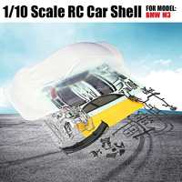 1/10 Scale Clear RC Car Body Shell PVC 190mm Modification For M3 Model