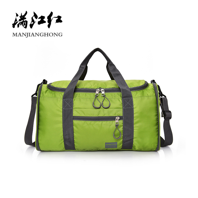 528547018183 Men Travel Bag Folding Shoulder Bag Portable Women Big Handbag Waterproof  Nylon Weekend Duffel Bag Black Luggage Packing Cubes