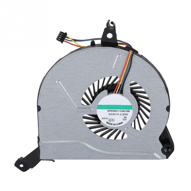For HP Pavilion 14-V 14-V028TX 15-V 15-P 767712-001 Q139 Q140 Replace CPU Fan ##