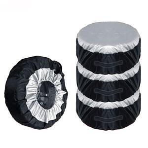 Image 1 - Чехол для автомобильных шин, чехол для запасных шин, сумки для хранения, сумка для переноски, полиэфирная шина для автомобилей, Защитные чехлы для колес, 4 сезона