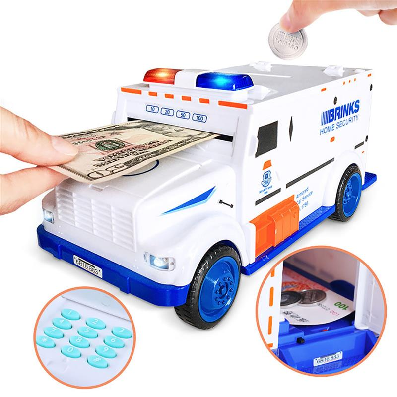 Creative Children 39 s Puzzle Piggy Bank Coin Bank Creative Car Password Locking Piggy Bank Money Saving Toy Decorative Items in Money Boxes from Home amp Garden
