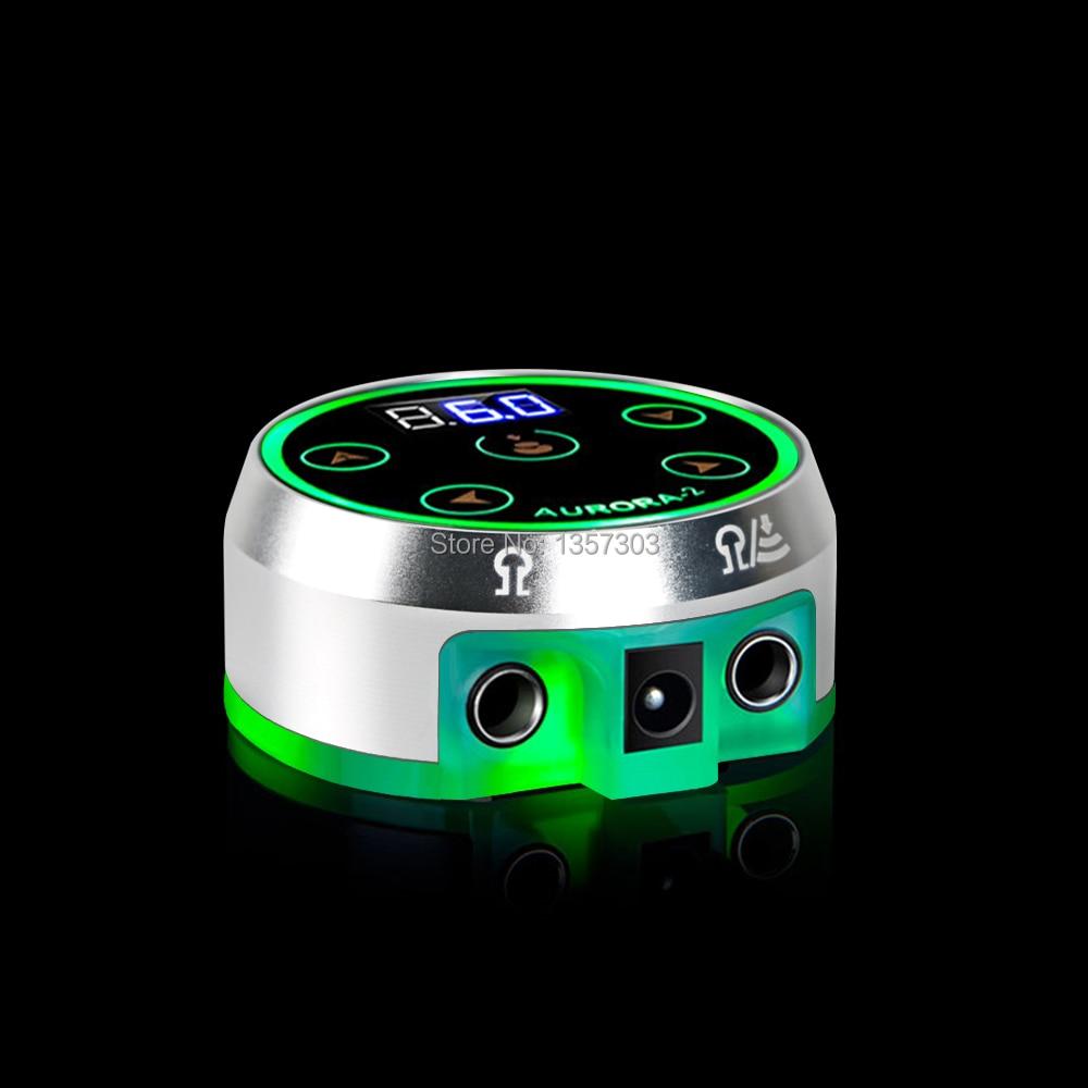 2019 Professional Mini Critical AURORA II LCD Tattoo Power Supply