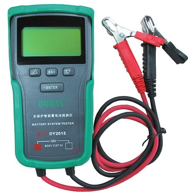 Dy2015 12v Car Battery System Tester Capacity Maximum Electronic Load Battery Charge Test+english Manual