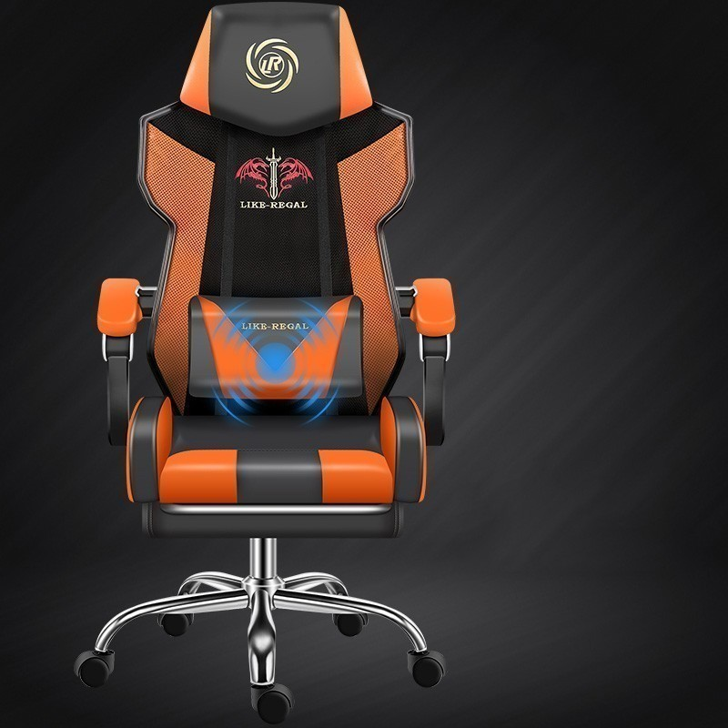 Computer Synthetic leather executive Office furniture Lie ergonomic kneeling working gaming Chair Revolving Competition