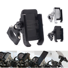 360 Degree Motorcycle Bicycle Bike Handlebar Mount Phone Holder For GPS Mobile Cell Phone