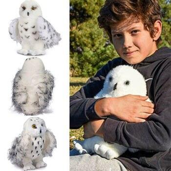 """Juguete encantador leyenda Snowy 8 """"-12 'Búho de peluche de juguete para niños adultos regalo Hogwarts de HP búho animales de peluche"""