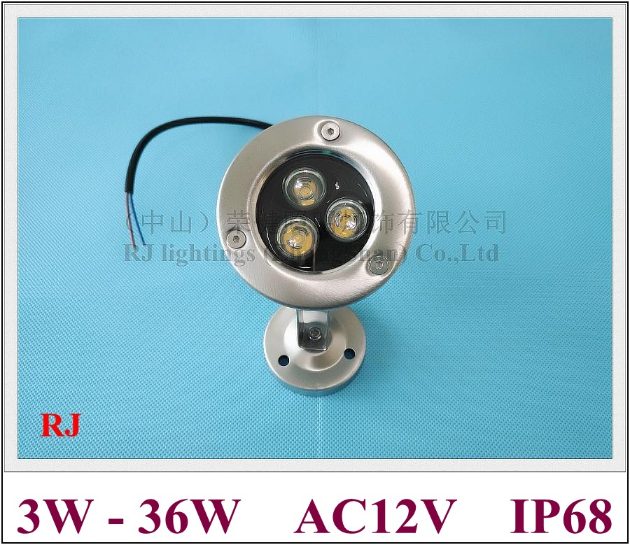 classical LED under water light underwater lamp LED swimming pool fountain light high power 1W LED