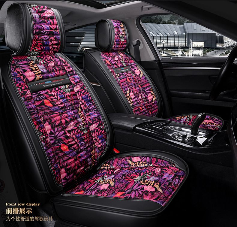 TO YOUR TASTE linen car seat covers for KIA carnival BORreed VQ Opirus RIO SORENTO Optima Carens Sportage Cadenza female women