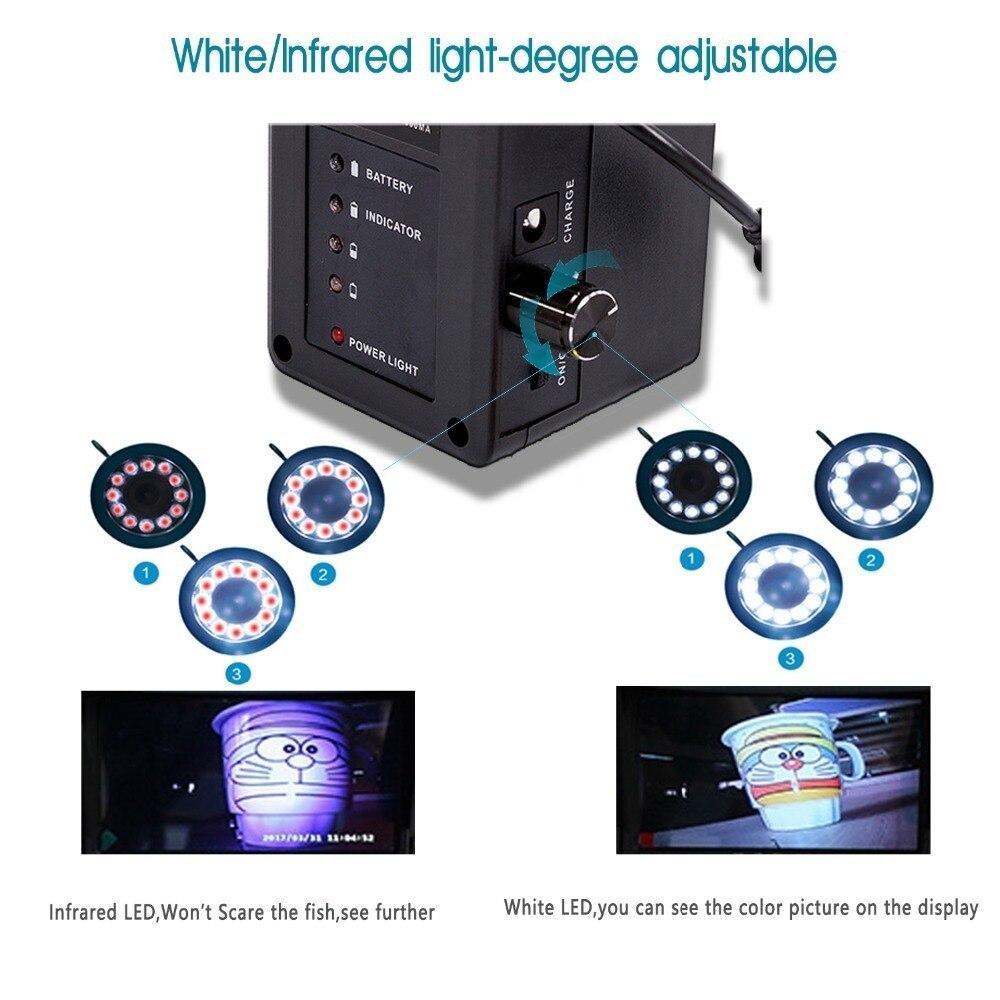 syanspan inventor dos peixes portatil camera de video subaquatica pesca 9 tft lcd monitor 02