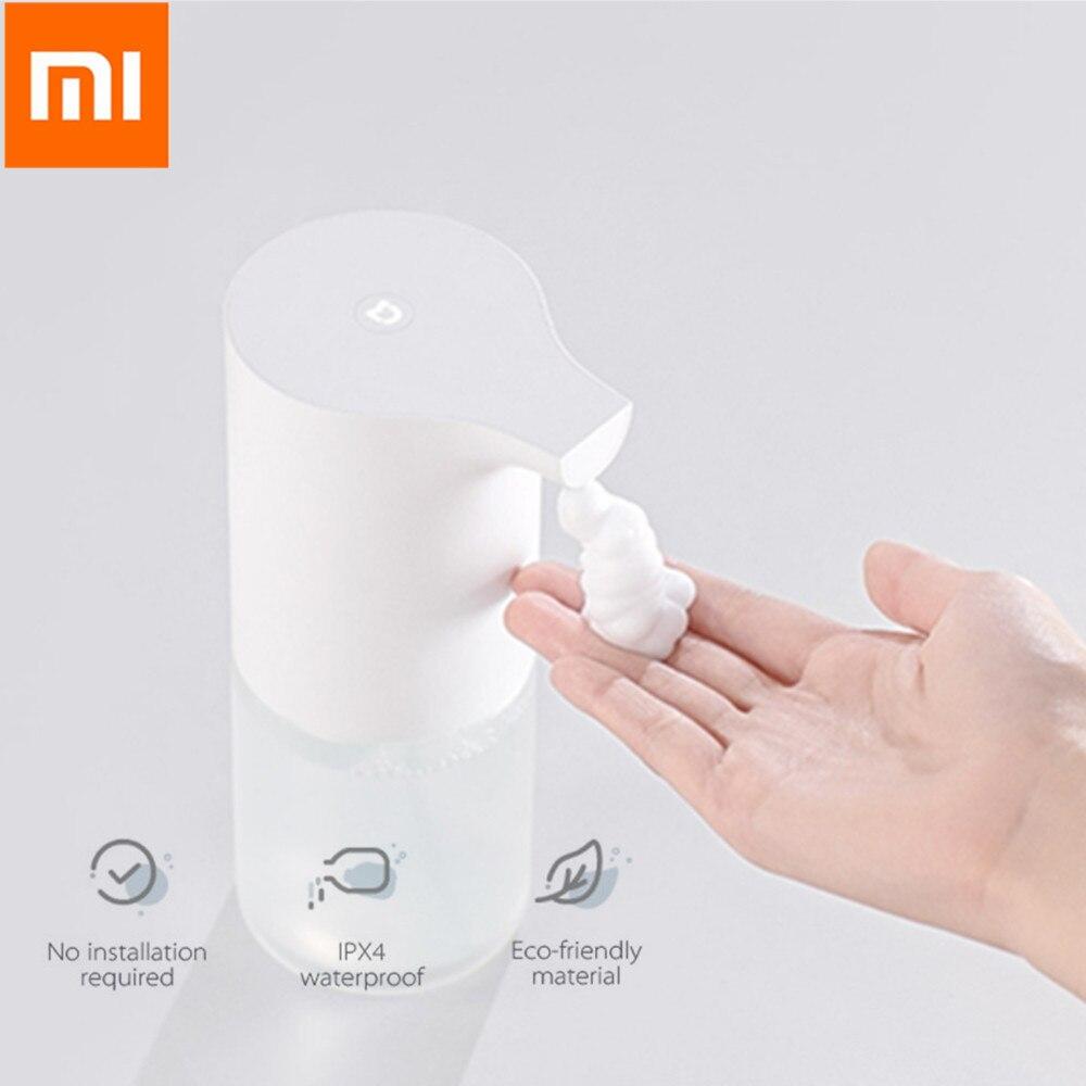 Nouveau Xiaomi Mijia 320 mL automatique Induction moussant lave-mains lavage savon 0.25 s capteur infrarouge nettoyage en profondeur pour les maisons intelligentesNouveau Xiaomi Mijia 320 mL automatique Induction moussant lave-mains lavage savon 0.25 s capteur infrarouge nettoyage en profondeur pour les maisons intelligentes