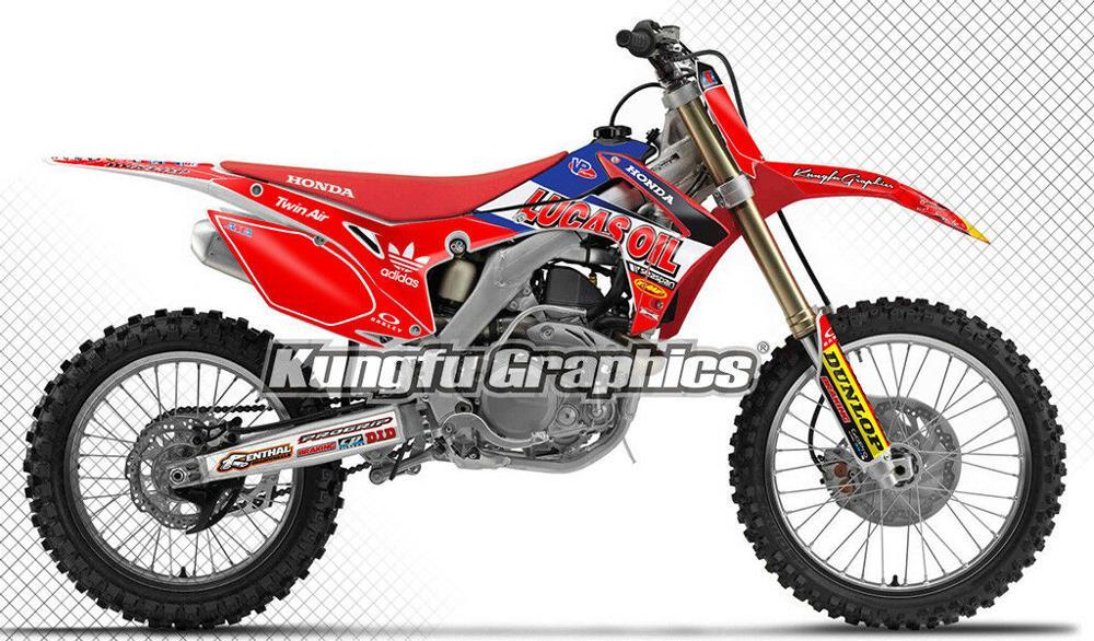 GRAFFITI Style sticker kit decals Honda CRF 450  2008 Full  Custom Graphic Kit