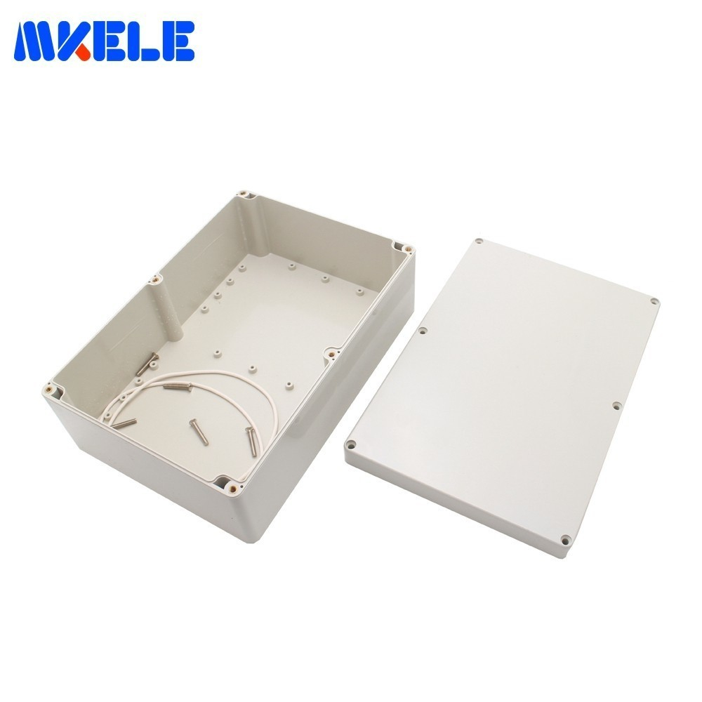 1Pc Waterproof Plastic Enclosure Electronic Project Instrument Case Outdoor Electrical Junction Box 263*182*125 mm
