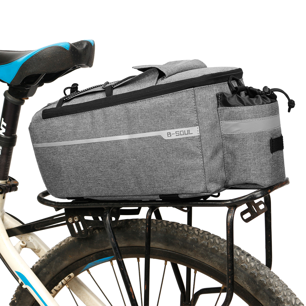 Insulated Trunk Cooler Bag Cycling Bicycle Rear Rack Storage Luggage Bag