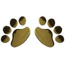 A Pair 3D PVC Bear Paw Dog Sticker Design Scratch Stickers Creative Adhesive Decals Car Sticker Car-styling Car Auto Accessories стоимость