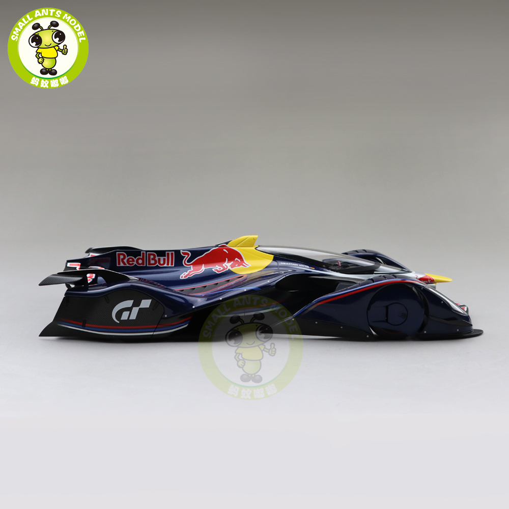 1/18 AUTOART 18118 RED BULL X2014 FAN CAR SEBASTIAN VETTEL Car model toys kids Gifts collection-in Diecasts & Toy Vehicles from Toys & Hobbies    3