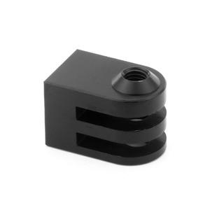 Image 4 - Cnc алюминиевый сплав мини штатив крепление для наружной спортивной камеры Базовый адаптер для всех 1/4 дюйма Винт монопод аксессуар