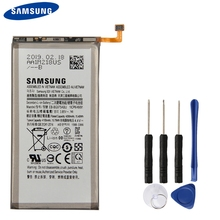 Original Replacement Phone Battery EB-BG975ABU For Samsung Galaxy S10+ S10 Plus SM-G9750 Authenic Rechargeable Battery 4100mAh смартфон samsung galaxy s10 128 гб гранатовый sm g975fzrdser