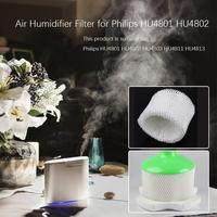 Wit Luchtbevochtiger Filter Geschikt voor Philips HU4801 HU4802 HU4803 HU4811/4813 Eenvoudig Te Installeren En Vervangen Op Elk tijd E5M1 op